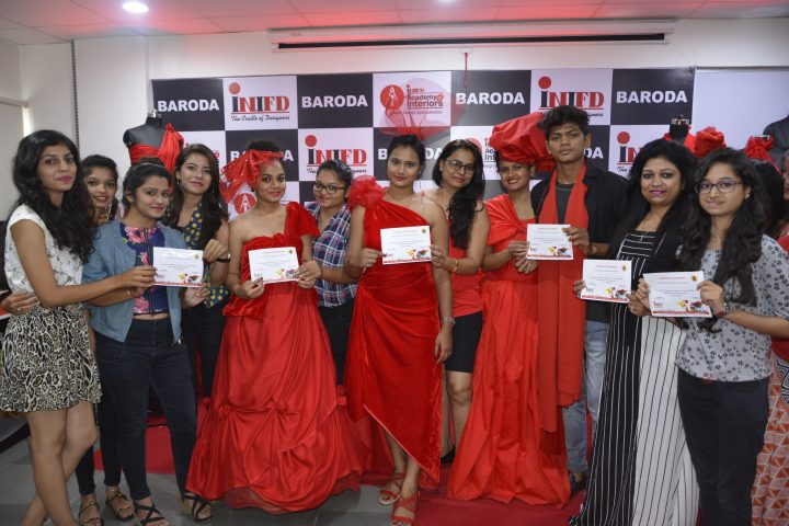 Veteran Bollywood Fashion Designer And Big Boss Contestant Kawaljit Singh At Inifd Baroda Inifd Baroda